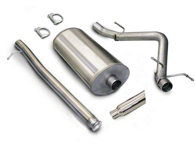 dB Performance by Corsa 3 in. Sport Single Exhaust System w/ Polished Tip - Side Exit (07-09 6.0L Sierra 1500, Excluding Hybrid)