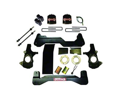 SkyJacker 6 in. Standard Suspension Lift Kit w/ Shocks (07-13 4WD Sierra 1500)