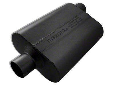Flowmaster 40 Series Delta Flow Center/Offset Oval Muffler - 2.5 in. (Universal Fitment)
