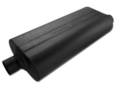 Flowmaster 70 Series Center/Offset Oval Muffler - 2.5 in. (Universal Fitment)