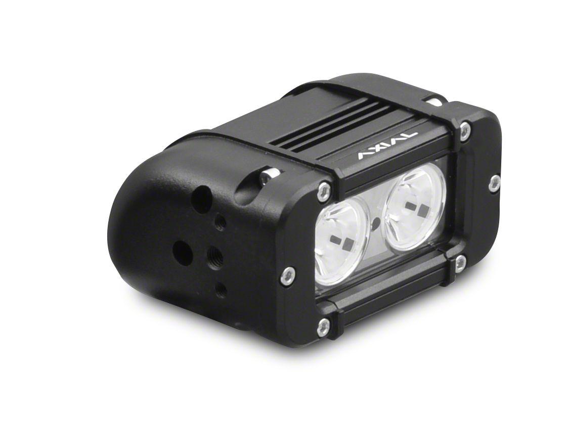 Axial 5 in. 2-LED Rectangular Light - Flood Beam