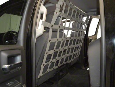 Dirty Dog 4x4 Pet Divider - Gray (07-18 Sierra 1500 Extended/Double Cab, Crew Cab)