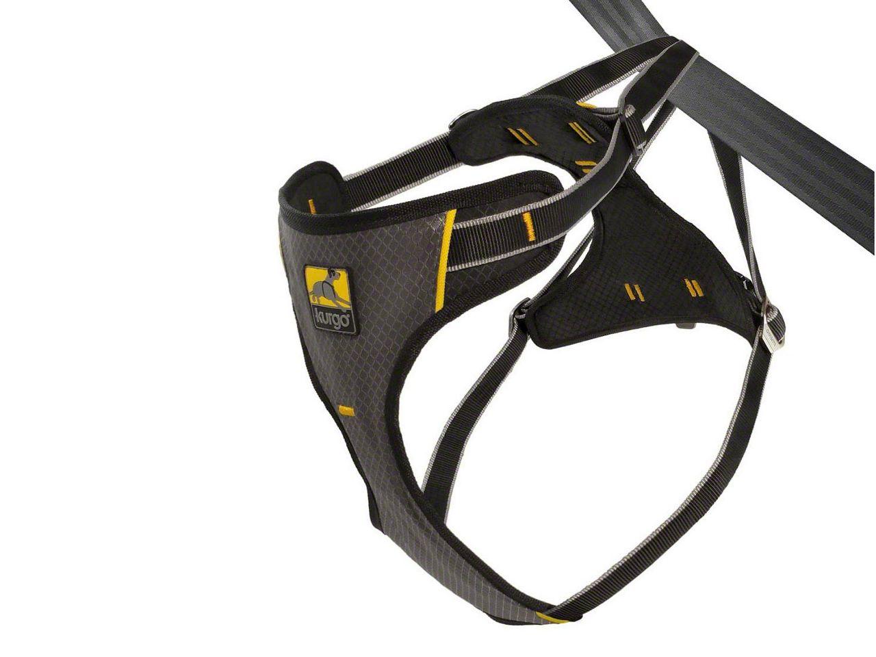 Kurgo Impact Dog Car Harness - Black/Charcoal