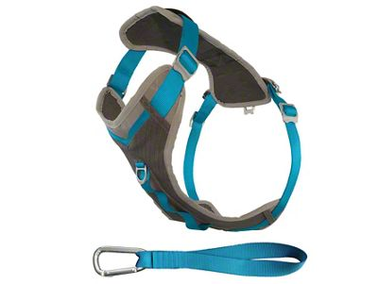 Kurgo Journey Dog Harness - Coastal Blue/Charcoal