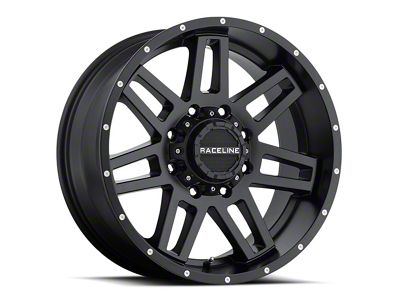 Raceline Injector Black 6-Lug Wheel - 20x12 (07-18 Sierra 1500)