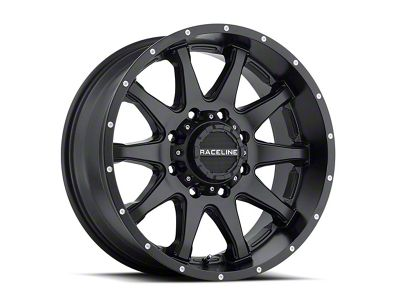 Raceline Shift Black 6-Lug Wheel - 20x12 (07-18 Sierra 1500)
