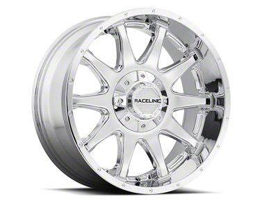 Raceline Shift Chrome 6-Lug Wheel - 17x8.5 (07-18 Sierra 1500)