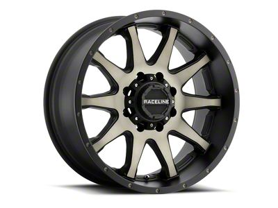 Raceline Shift Black Machined w/ Dark Tint 6-Lug Wheel - 17x8.5 (07-18 Sierra 1500)
