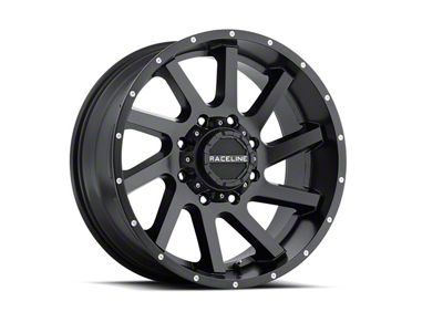 Raceline Twist Black 6-Lug Wheel - 20x12 (07-18 Sierra 1500)