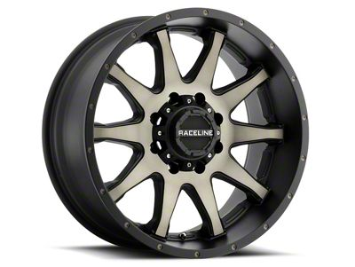 Raceline Shift Black Machined w/ Dark Tint 6-Lug Wheel - 20x12 (07-18 Sierra 1500)