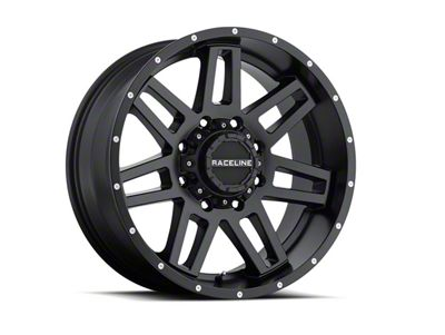 Raceline Injector Black 6-Lug Wheel - 17x9 (07-18 Sierra 1500)