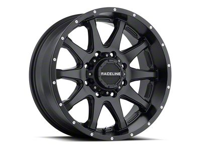 Raceline Shift Black 6-Lug Wheel - 17x9 (07-18 Sierra 1500)