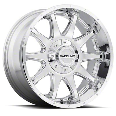 Raceline Shift Chrome 6-Lug Wheel - 17x9 (07-18 Sierra 1500)