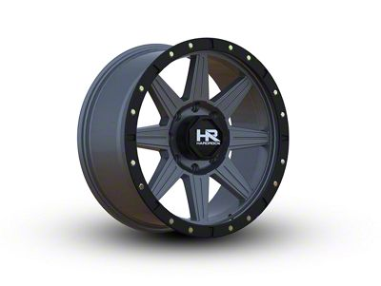 Hardrock Offroad H100 Matte Gunmetal 6-Lug Wheel - 20x9 (07-18 Sierra 1500)