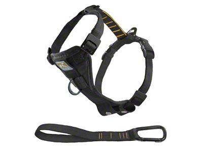 Kurgo TruFit Smart Dog Walking Harness - Black