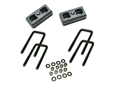 SuperLift 2 in. Rear Lift Block Kit (07-18 Sierra 1500)