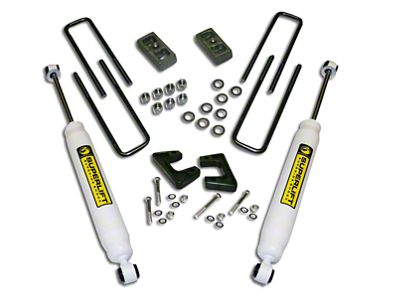 SuperLift 2.5 in. Suspension Lift Kit w/ Superide Shocks (07-13 Sierra 1500)