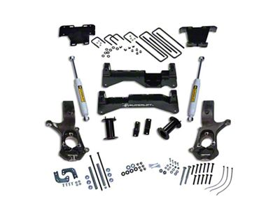 SuperLift 8 in. Suspension Lift Kit w/ Superide Shocks (07-18 2WD Sierra 1500, Excluding 14-18 Denali)