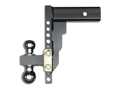Husky 2 in. Receiver Adjustable Ball Mount - 10 in. Drop Hitch (07-18 Sierra 1500)