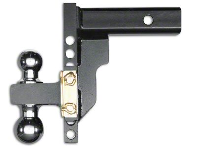 Husky 2.5 in. Receiver Adjustable Ball Mount - 8 in. Drop Hitch (07-18 Sierra 1500)