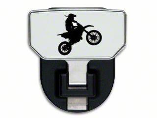 Carr HD Hitch Step w/ Dirt Bike Logo (07-18 Sierra 1500)
