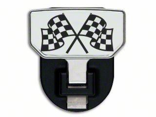 Carr HD Hitch Step w/ Checkered Flag Logo (07-18 Sierra 1500)