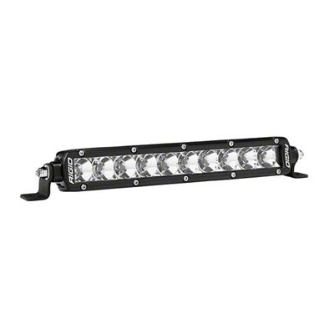 Rigid Industries 10 in. SR-Series Amber LED Light Bar - Flood Beam