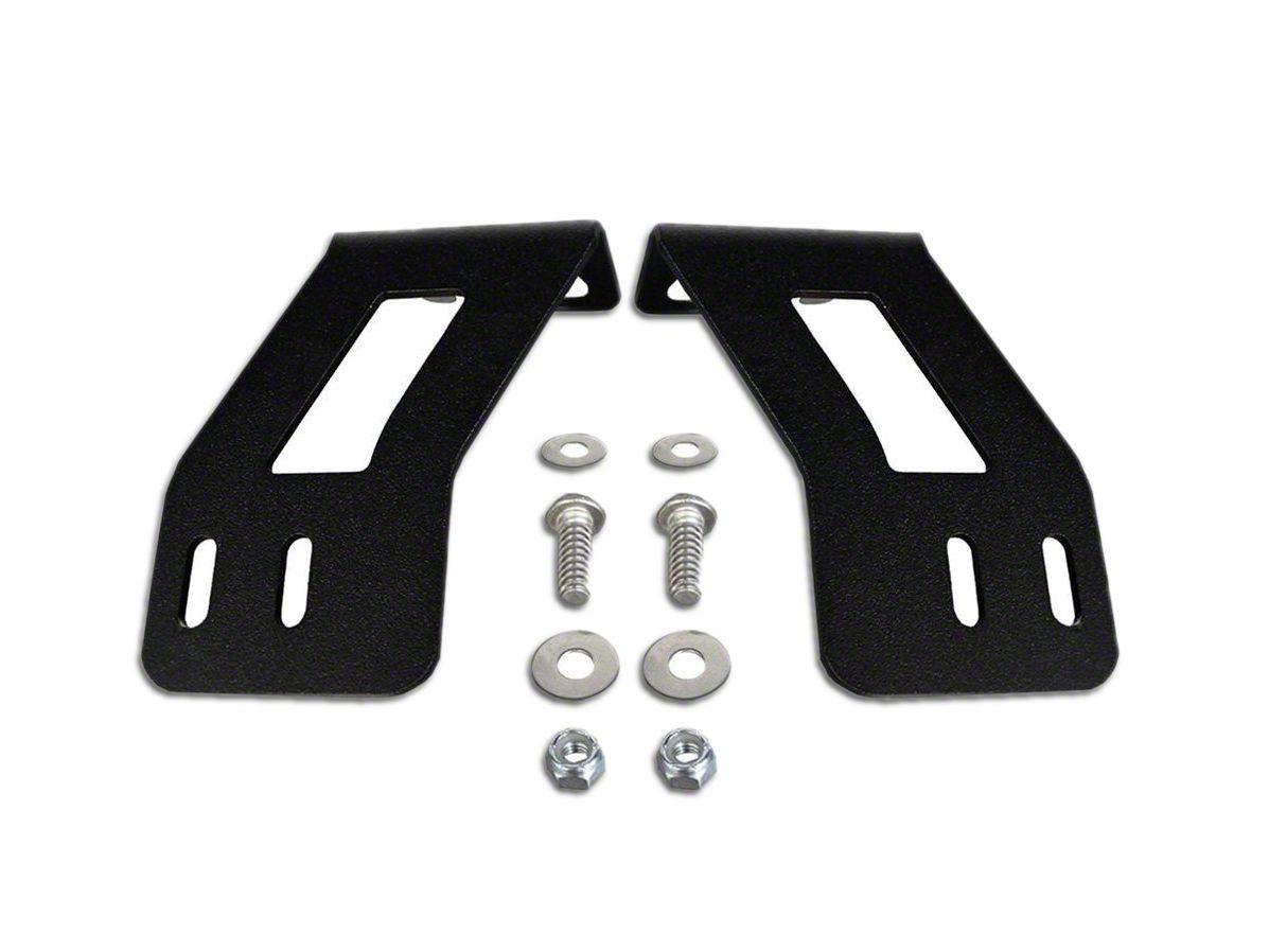 Rigid Industries 20 in. SR-Series LED Light Bar Lower Bumper Mounting Brackets (11-13 Sierra 1500)