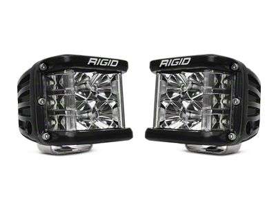 Rigid Industries D-SS Side Shooter Series LED Cube Lights - Flood Beam - Pair