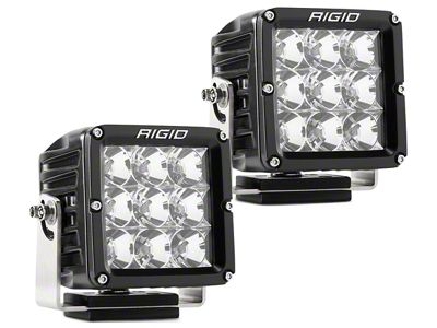 Rigid Industries Dually XL Series LED Cube Lights - Flood Beam - Pair