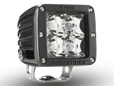 Rigid Industries E-Mark Dually LED Cube Light - Spot Beam