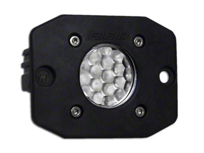 Rigid Industries Ignite Flush Mount LED Light - 60 Deg. Diffused Beam