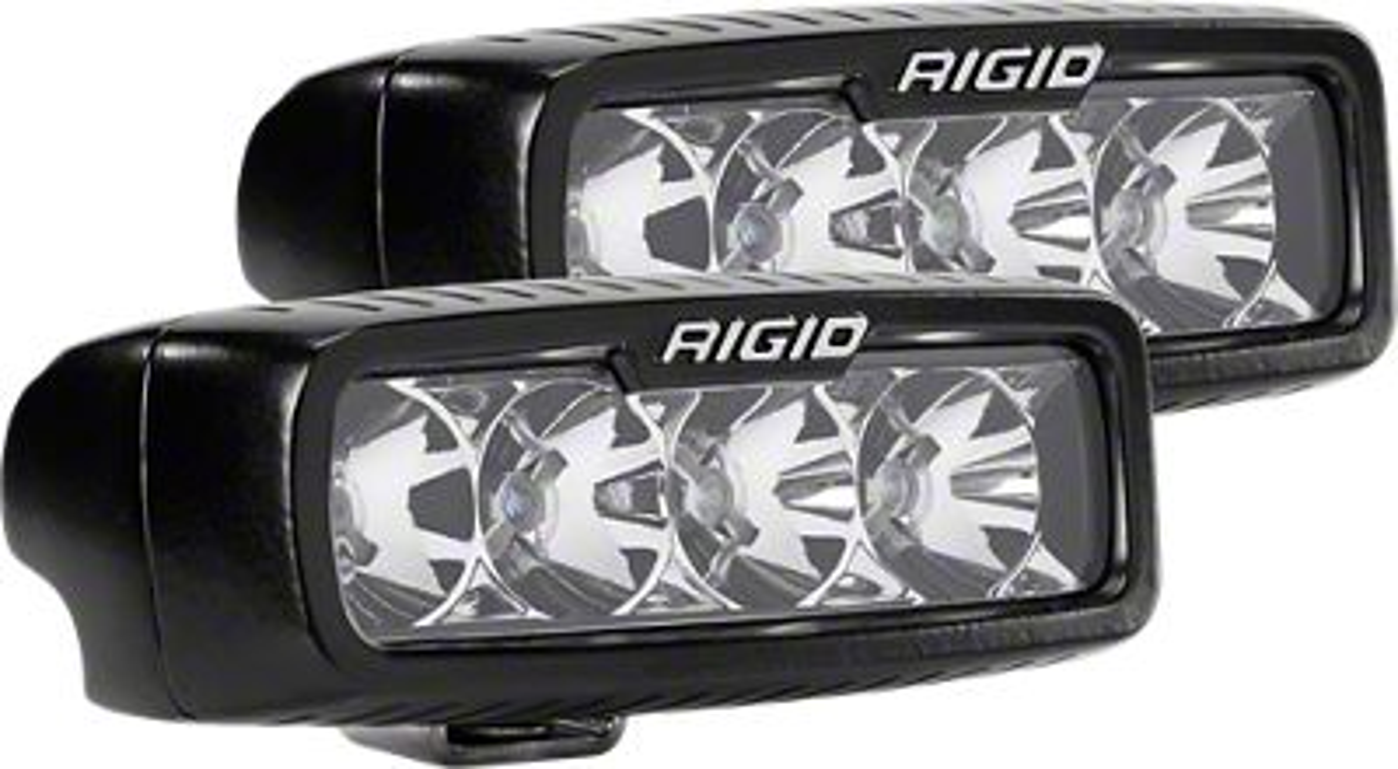 Rigid Industries SR-Q Series LED Light Bar - Flood Beam - Pair