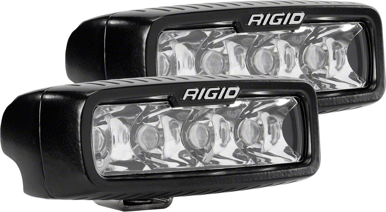 Rigid Industries SR-Q Series LED Light Bar - Spot Beam - Pair