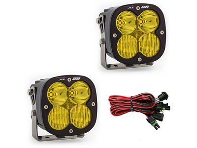 Baja Designs XL80 Amber LED Lights - Driving/Combo Beam - Pair