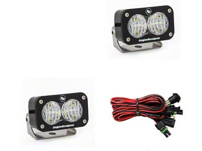 Baja Designs S2 Pro LED Light - Wide Cornering Beam - Pair
