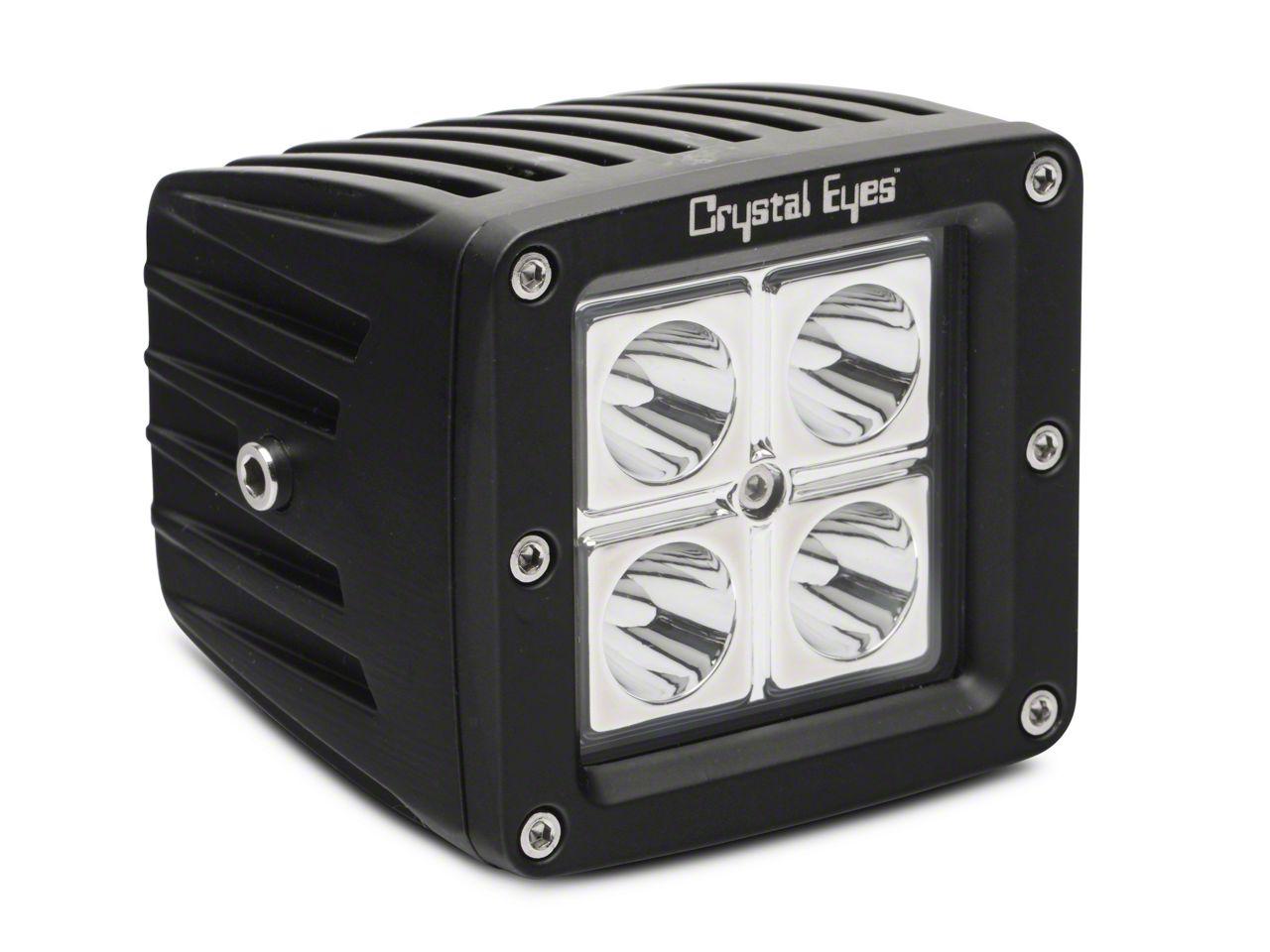 Alteon 3 in. Work LED Cube Light - 30 Degree Flood Beam