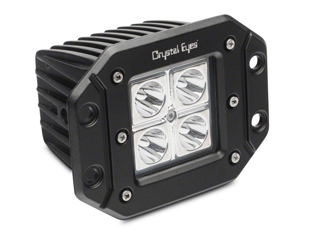 Alteon 5 in. Work Flush Mount LED Cube Light - 30 Degree Flood Beam