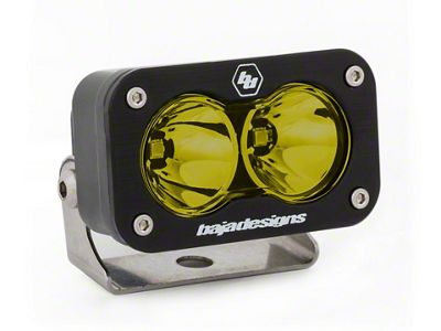 Baja Designs S2 Sport Amber LED Light - Spot Beam