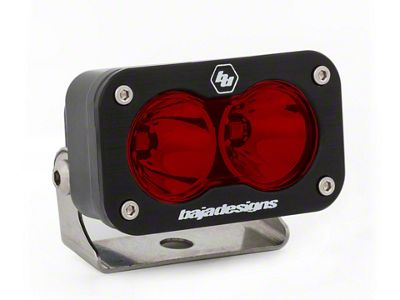 Baja Designs S2 Sport Red LED Light - Spot Beam