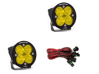 Baja Designs Squadron-R Pro Amber LED Light - Wide Cornering Beam- Pair