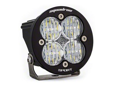 Baja Designs Squadron-R Sport LED Light - Wide Cornering Beam