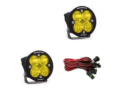 Baja Designs Squadron-R Sport Amber LED Light - Driving/Combo Beam - Pair