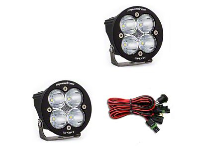 Baja Designs Squadron-R Sport LED Light - Spot Beam - Pair