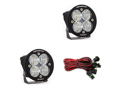 Baja Designs Squadron-R Sport LED Light - Wide Cornering Beam- Pair