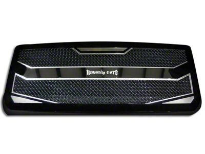 Royalty Core RC4 Layered Upper Replacement Grille - Black (16-18 Sierra 1500)