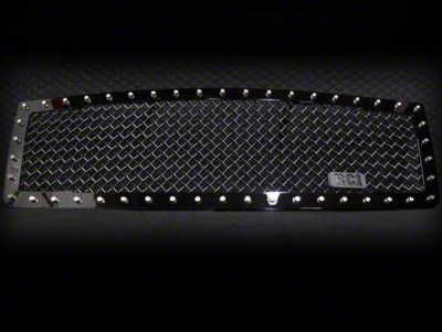 Royalty Core RC1 5.0 Super Mesh Upper Replacement Grille - Gloss Black (07-13 Sierra 1500)