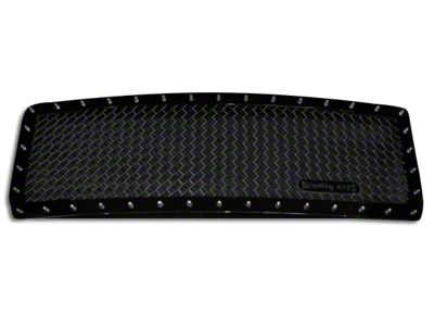 Royalty Core RC1 5.0 Super Mesh Upper Replacement Grille - Gloss Black (14-15 Sierra 1500)