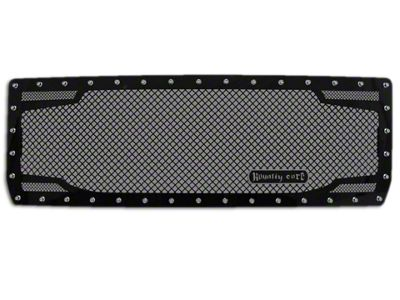 Royalty Core RC2 Twin Mesh Upper Replacement Grille - Black (14-15 Sierra 1500)