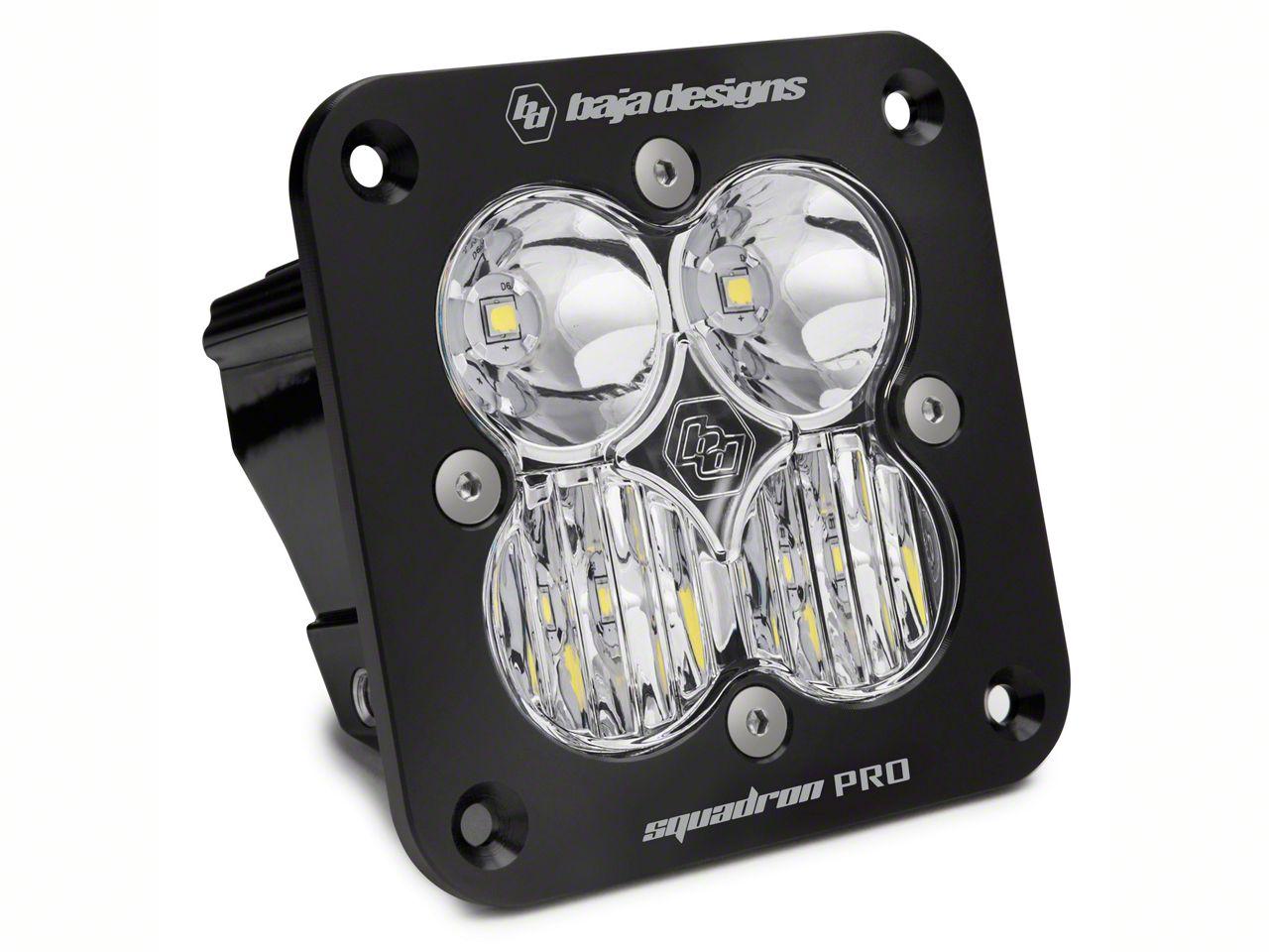 Baja Designs Squadron Pro Flush Mount LED Light - Driving/Combo Beam